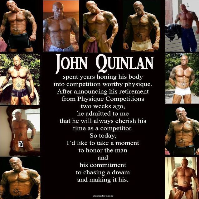 Author Charlie Daye Legacy Tribute to Tattooed Romance & Physique Model John Joseph Quinlan #JohnQuinlan