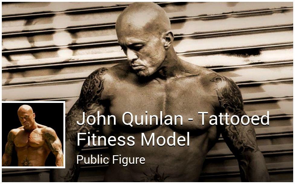 John Joseph Quinlan Tattooed Fitness Model Public Figure by Melanie Pilcher #JohnQuinlan