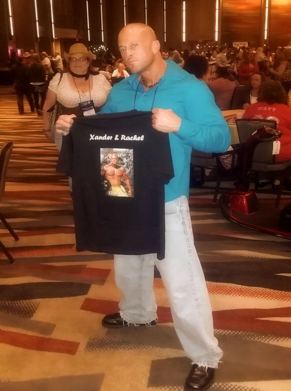2015 World Famous RT Convention Dallas Texas Featured Cover Model John Joseph Quinlan Xander Tshirt by Khloe Wren #JohnQuinlan