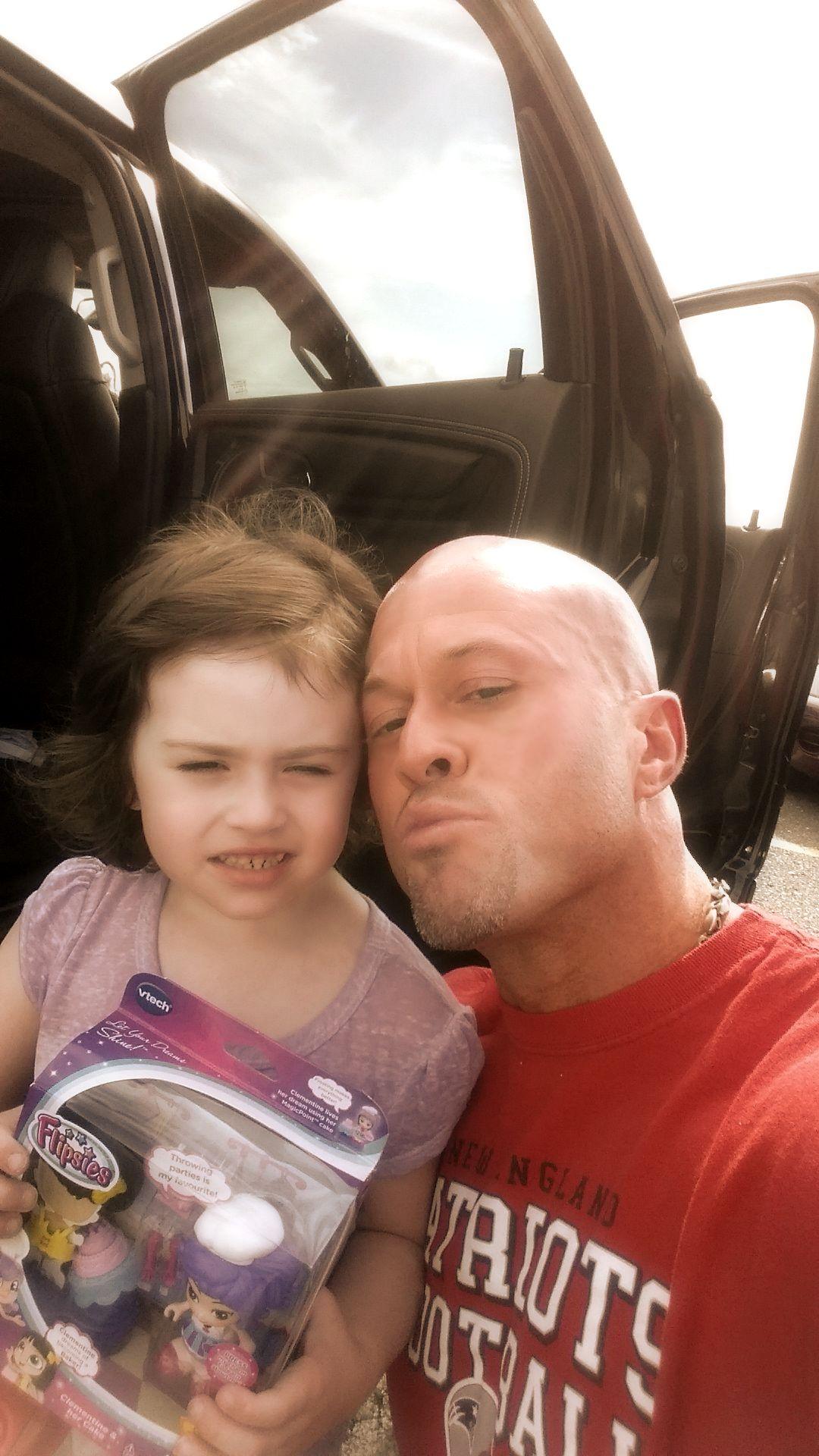 John Joseph Quinlan & Daughter Mia 8-22-2015 #JohnQuinlan