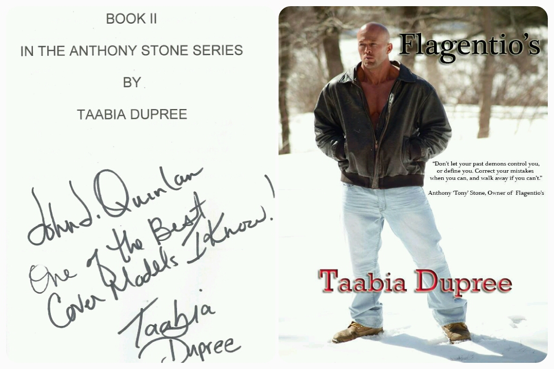 Romance Cover Model John Joseph Quinlan from Author Taabia Dupree #JohnQuinlan