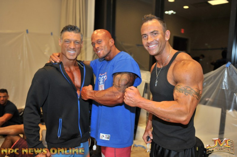 2015 NPC Men's Physique Master Competitors Michael Anderson David Andrew Lees Jr. & John Joseph Quinlan @ NPC News Online Photo by JM Manion #JohnQuinlan