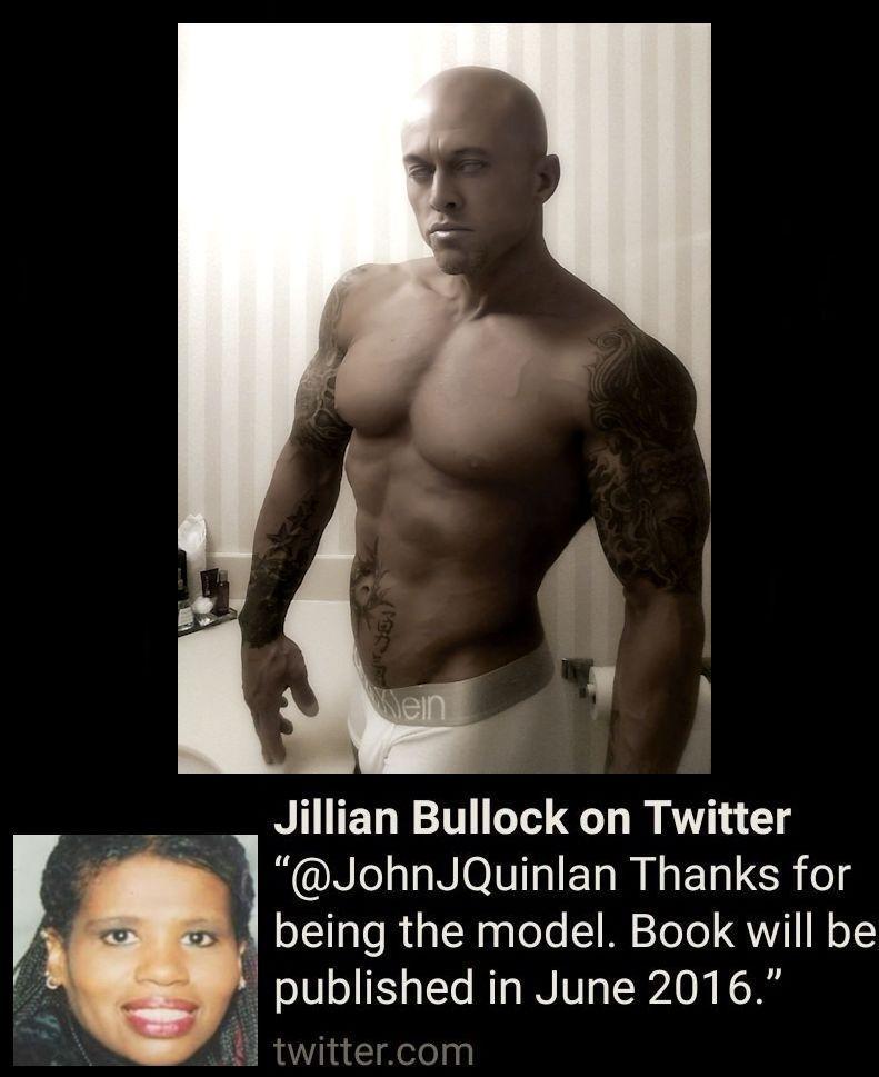 Fitness Between the Sheets by Jillian Bullock Book Cover Model John Joseph Quinlan via Twitter #JohnQuinlan