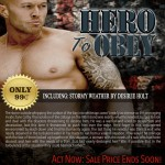 Hero To Obey Book Cover Model Actor John Joseph Quinlan by Desiree Holt. #JohnQuinlan #Hero2obey