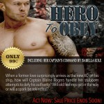 Hero To Obey Book Cover Model Actor John Joseph Quinlan by Isabella Kole. #JohnQuinlan #Hero2obey