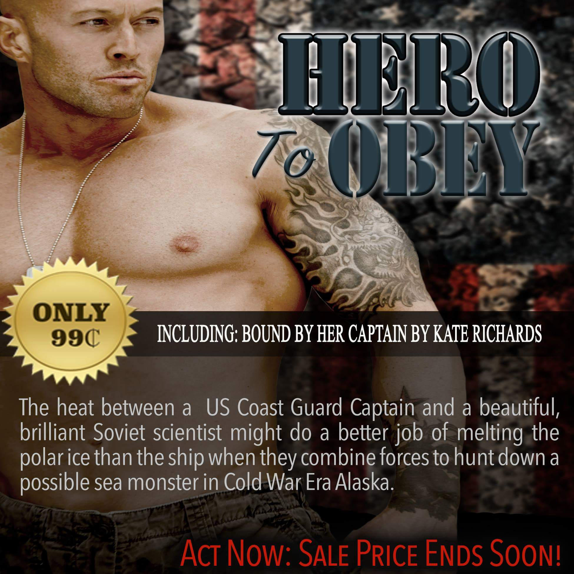 Hero To Obey Book Cover Model Actor John Joseph Quinlan by Kate Richards. #JohnQuinlan #Hero2obey