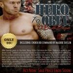 Hero To Obey Book Cover Model Actor John Joseph Quinlan by Maddie Taylor. #JohnQuinlan #Hero2obey