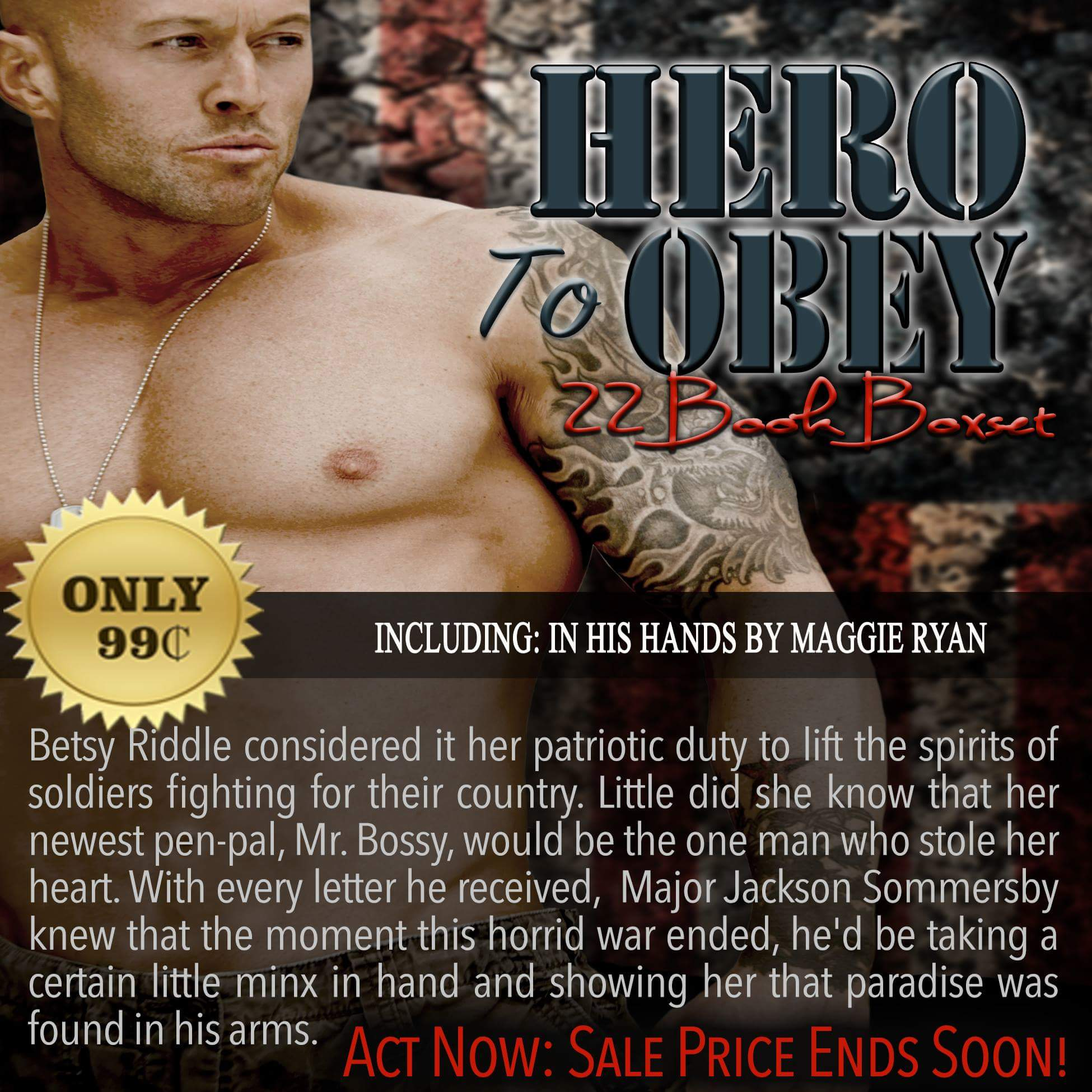 Hero To Obey Book Cover Model Actor John Joseph Quinlan by Maggie Ryan. #JohnQuinlan #Hero2obey