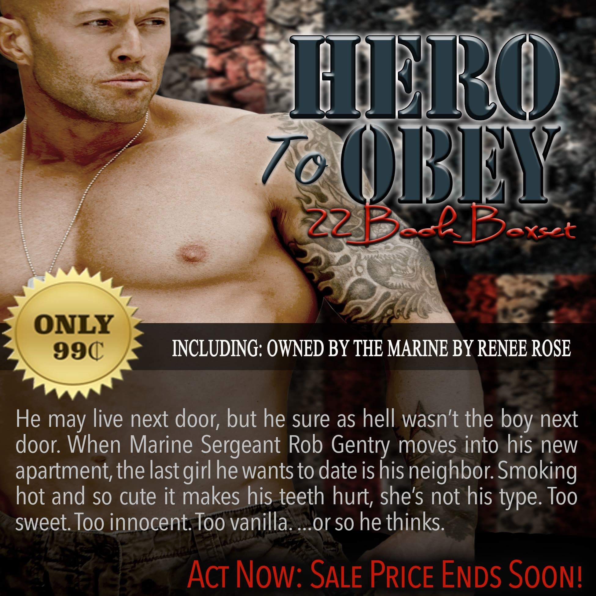 Hero To Obey Book Cover Model Actor John Joseph Quinlan by Renee Rose. #JohnQuinlan #Hero2obey