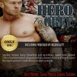 Hero To Obey Book Cover Model Actor John Joseph Quinlan by Selena Kitt. #JohnQuinlan #Hero2obey