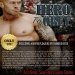 Hero To Obey Book Cover Model Actor John Joseph Quinlan by Yasmine Hyde. #JohnQuinlan #Hero2obey