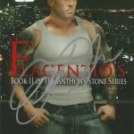 Tattoo Romance Cover Model John Quinlan Flagentio's Autograph #JohnQuinlan