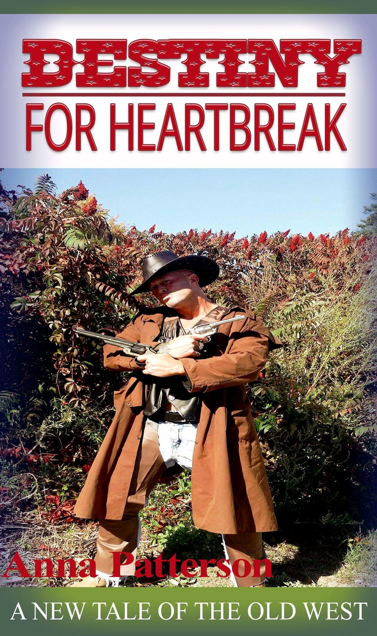 Destiny For Heartbreak Romance Book Cover Model John Joseph Quinlan by Anna Patterson #JohnQuinlan
