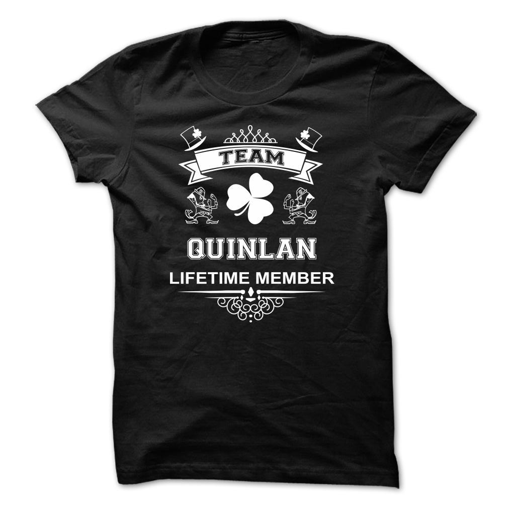 John Quinlan Shamrock T-Shirt Team Quinlan Lifetime Member #JohnQuinlan