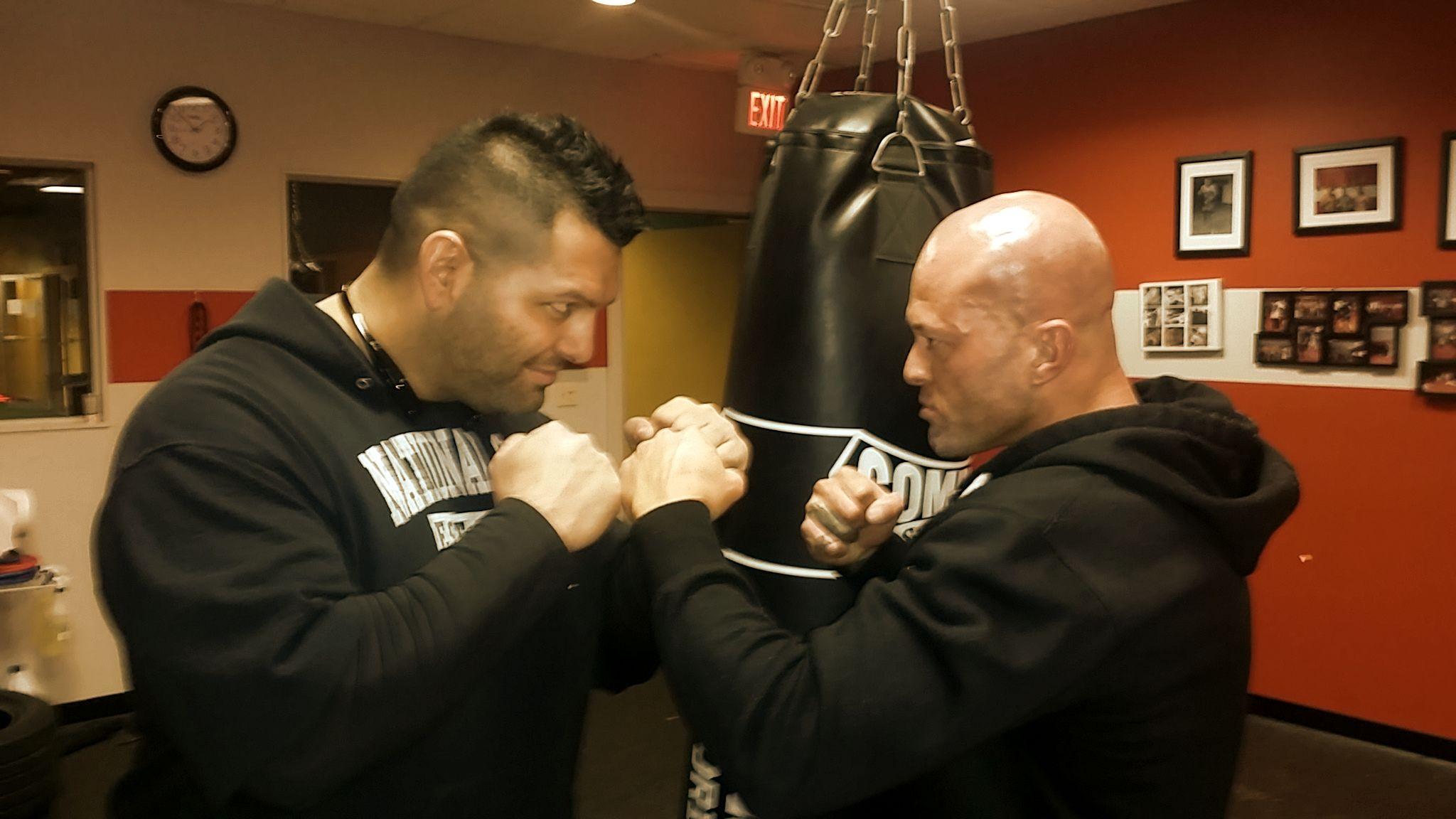Performance Boxing Trainer John Espada & John Joseph Quinlan of Greater Boston Fitness Gym #JohnQuinlan