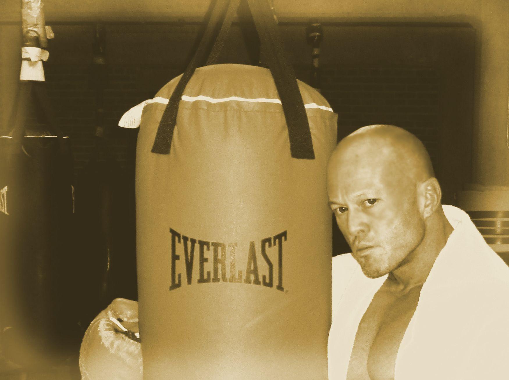 Tattooed Boston Physique Model & Actor John Joseph Quinlan 2015 Pilot Film Series Project Boxing Training @ Everlast #JohnQuinlan