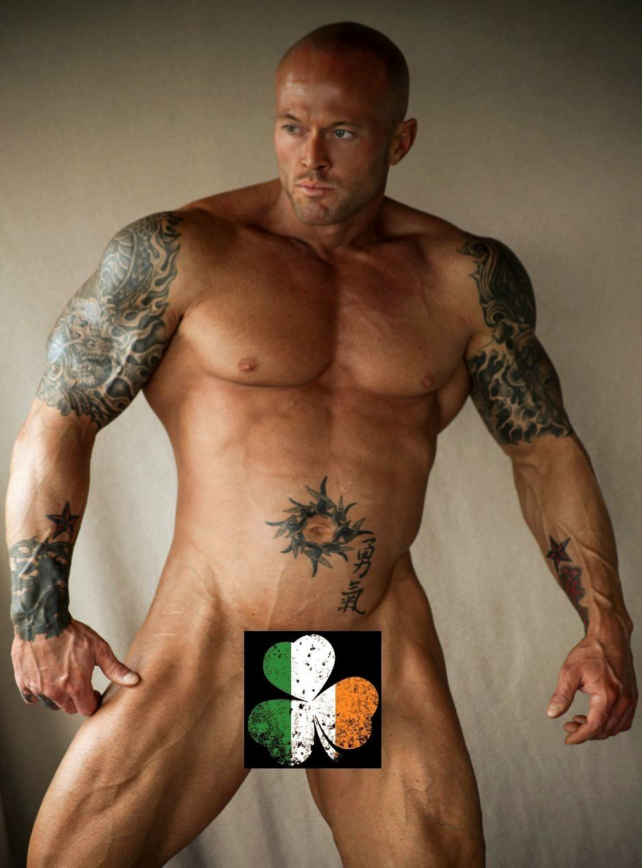 Tattooed Model John Quinlan Playgirl Theme #JohnQuinlan #Playgirl