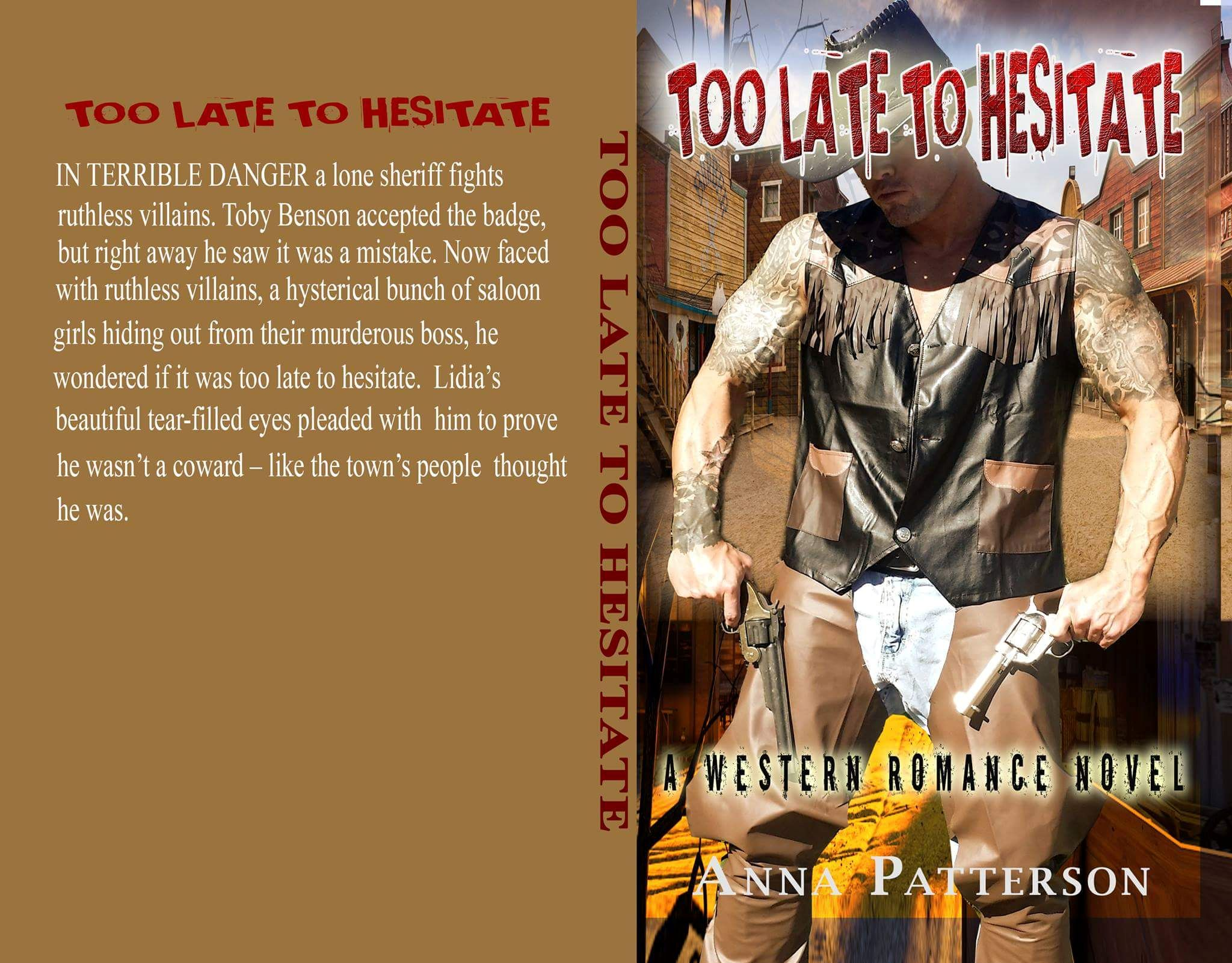 Too Late To Hesitate Romance Book Cover Model John Joseph Quinlan by Anna Patterson #JohnQuinlan