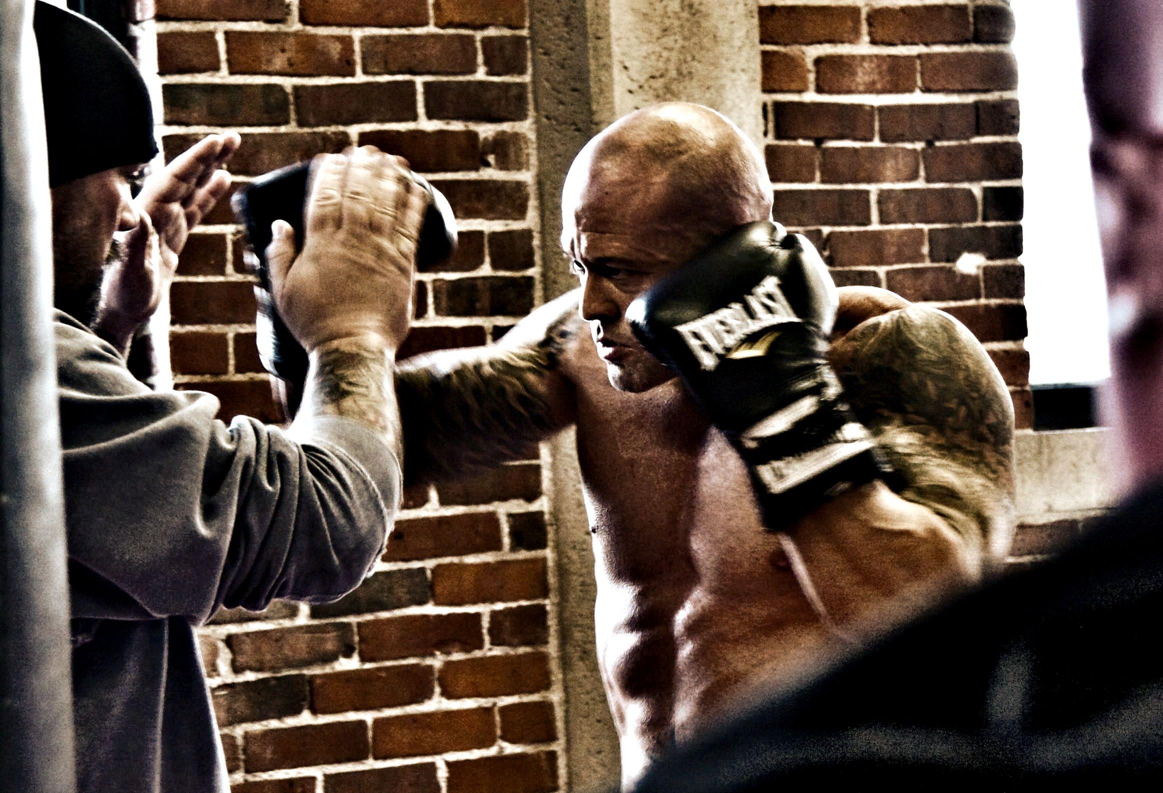Actor & Model John Joseph Quinlan Boston Film Series Project Cruiser Weight Champion of the World On Set @ Dullea's Boxing Club 2015 #JohnQuinlan