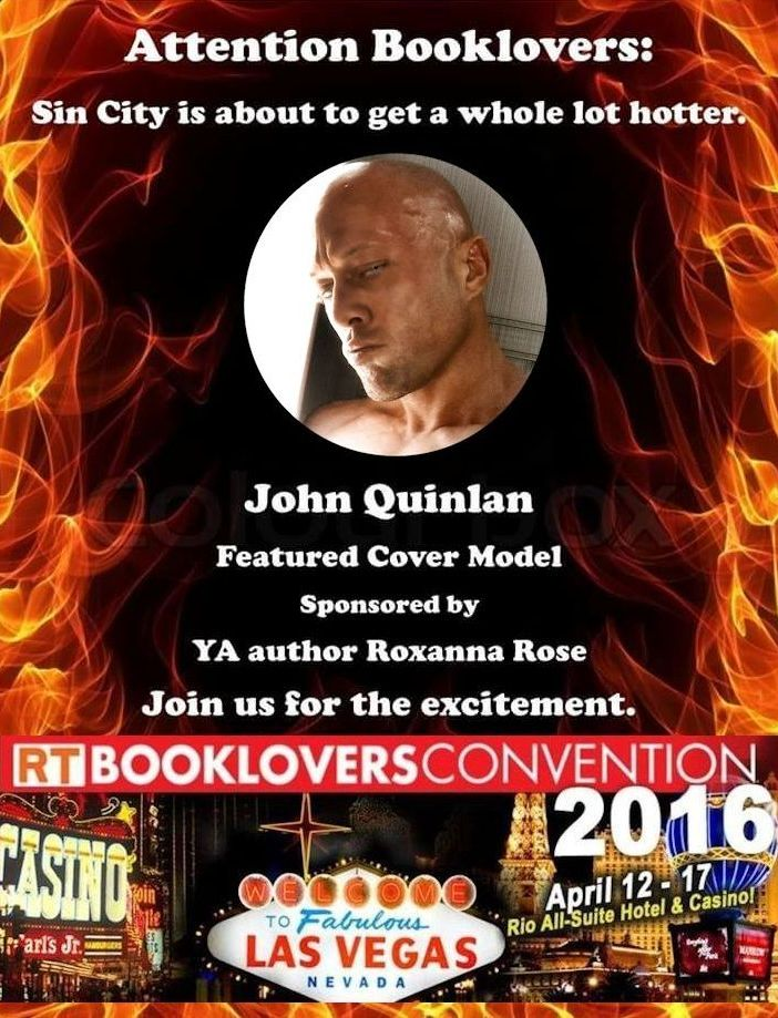 2016 RT Convention Las Vegas Featured Cover Model John Joseph Quinlan by Roxanna Rose #JohnQuinlan