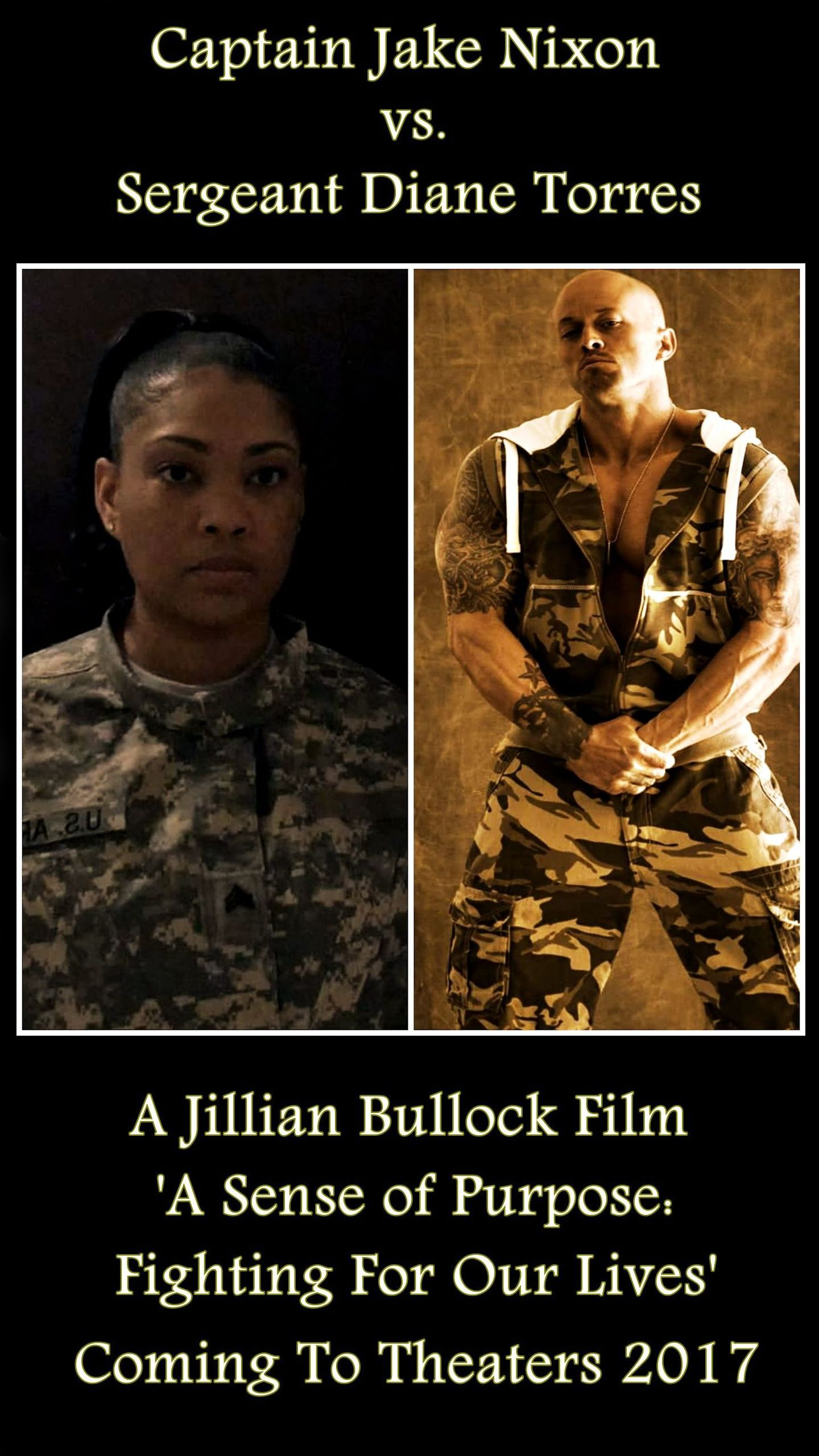 Actor John Joseph Quinlan Captain Jake Nixon vs. Tamara Woods Diane Torres #JohnQuinlan