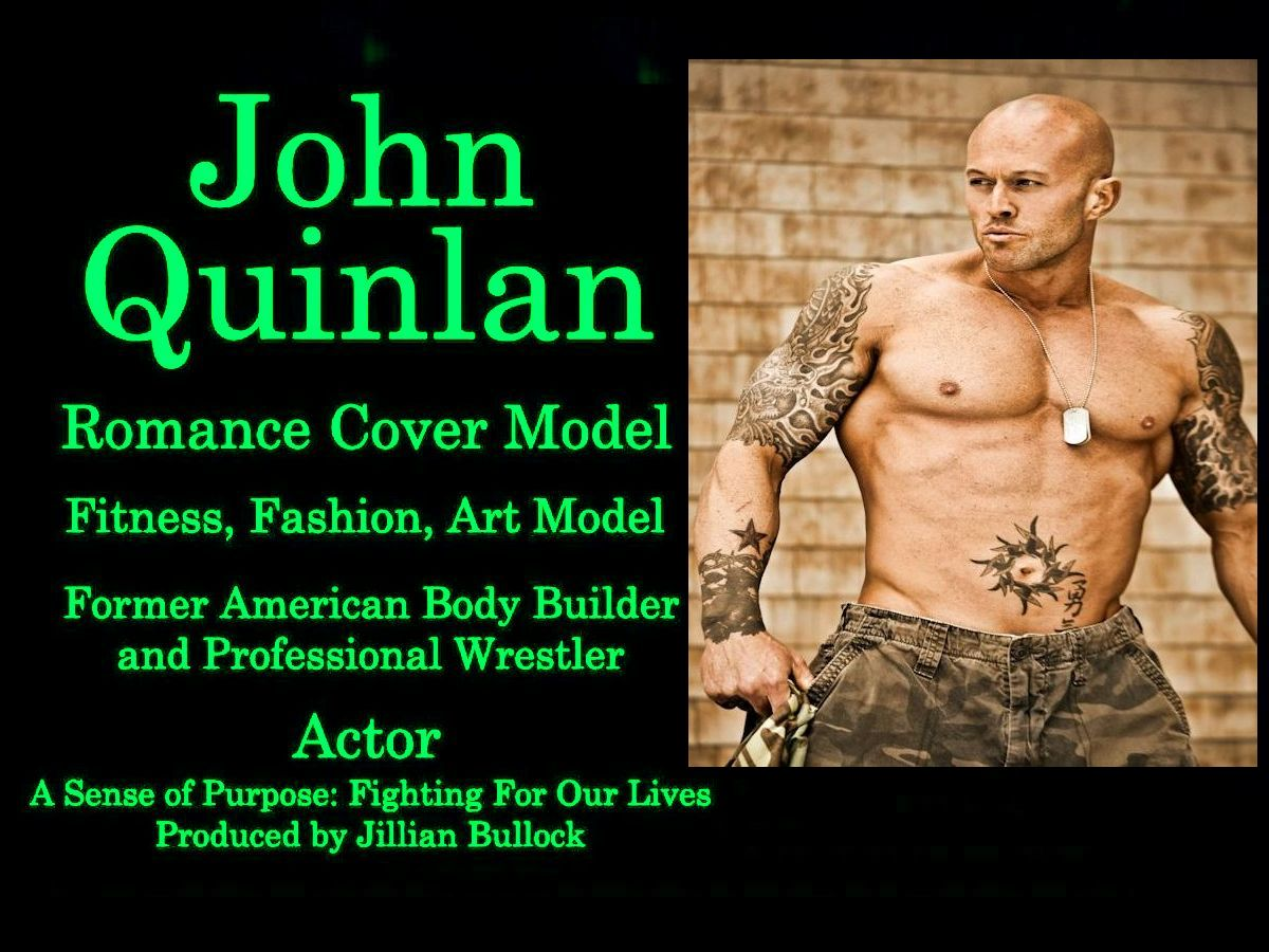 Actor & Model John Joseph Quinlan Captain Nixon Sense of Purpose Film Promo #JohnQuinlan