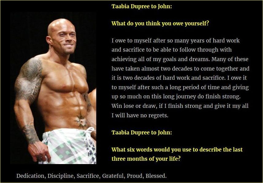 Actor & Model John Joseph Quinlan Interview with Taabia Dupree March 2016 #JohnQuinlan