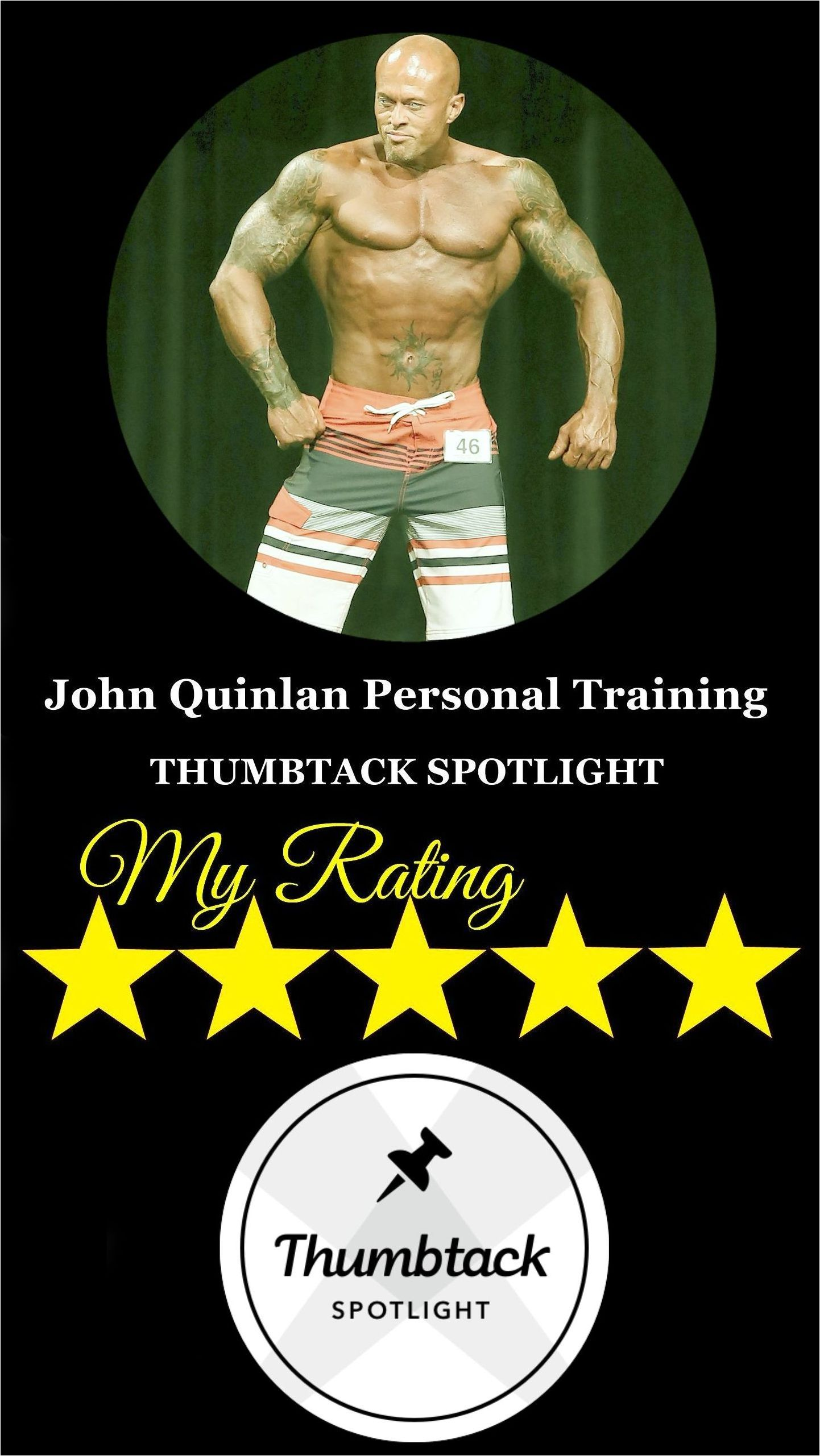 Actor & Physique Model Personal Trainer John Joseph Quinlan Thumbtack Spotlight #JohnQuinlan