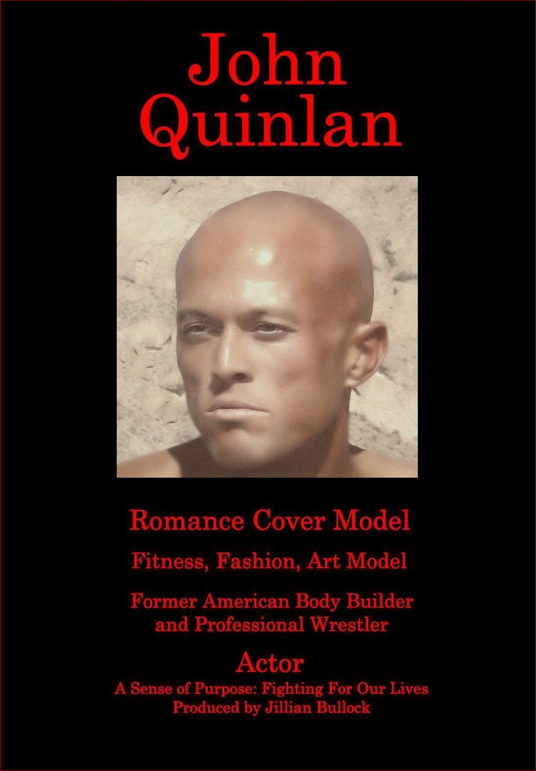 Tattooed Actor & Model John Joseph Quinlan March 2016 Promo by Ms. X #JohnQuinlan