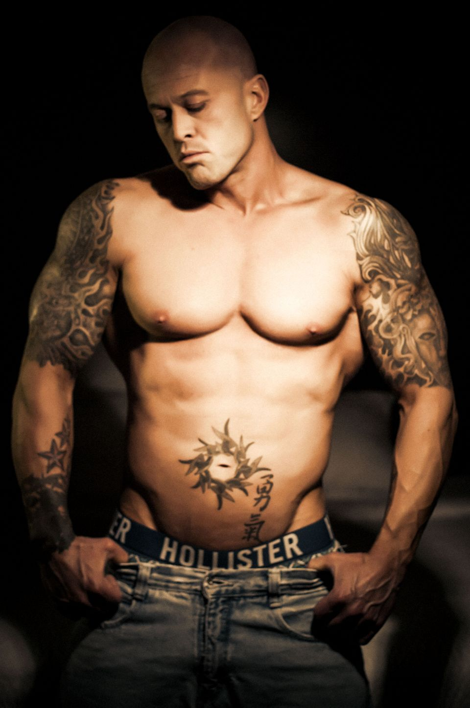 Tattooed Model & Actor John Joseph Quinlan by Brianna Oliveira #JohnQuinlan