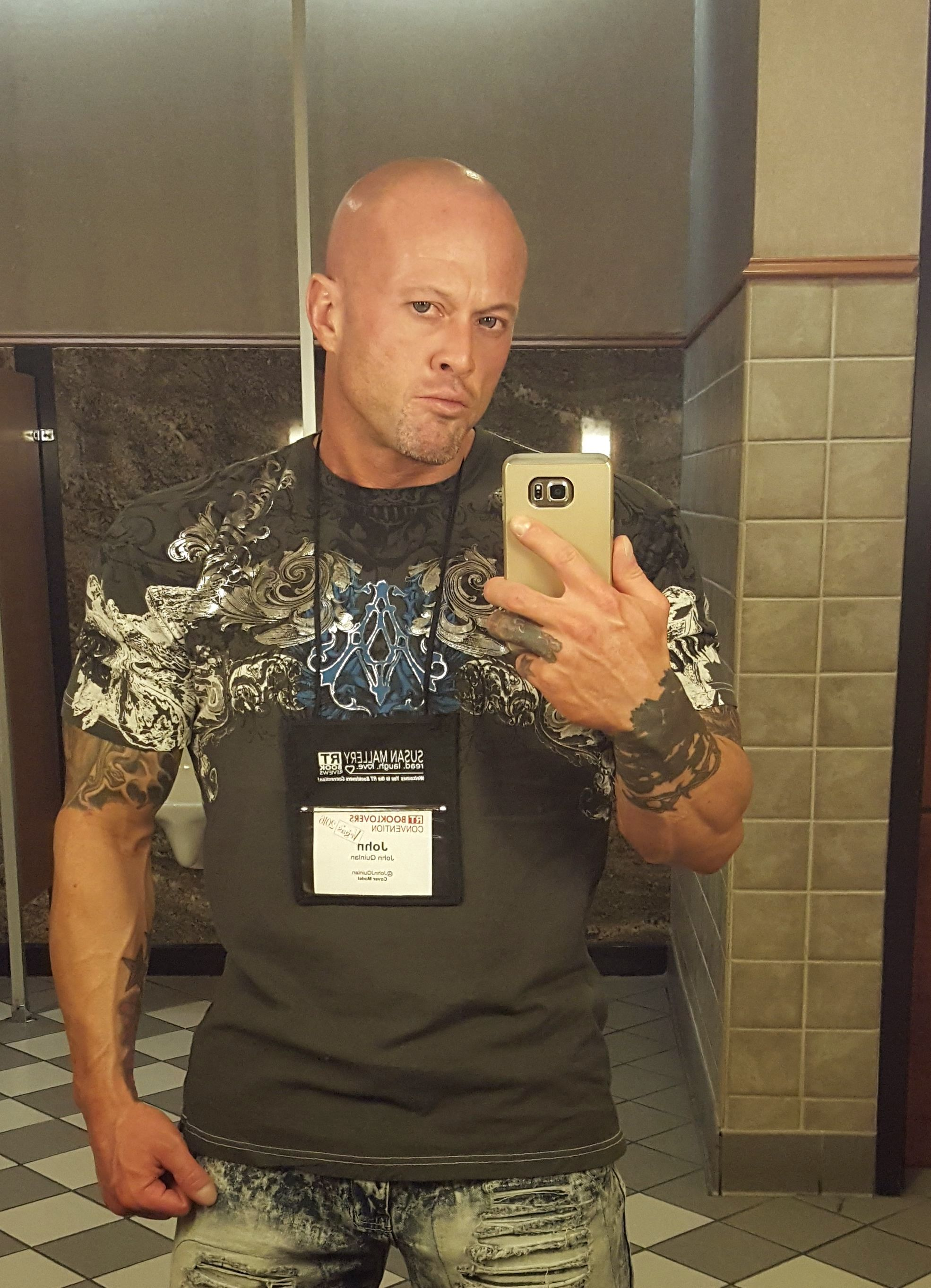 2016 RT Las Vegas Featured Cover Model & Actor John Joseph Quinlan. #JohnQuinlan