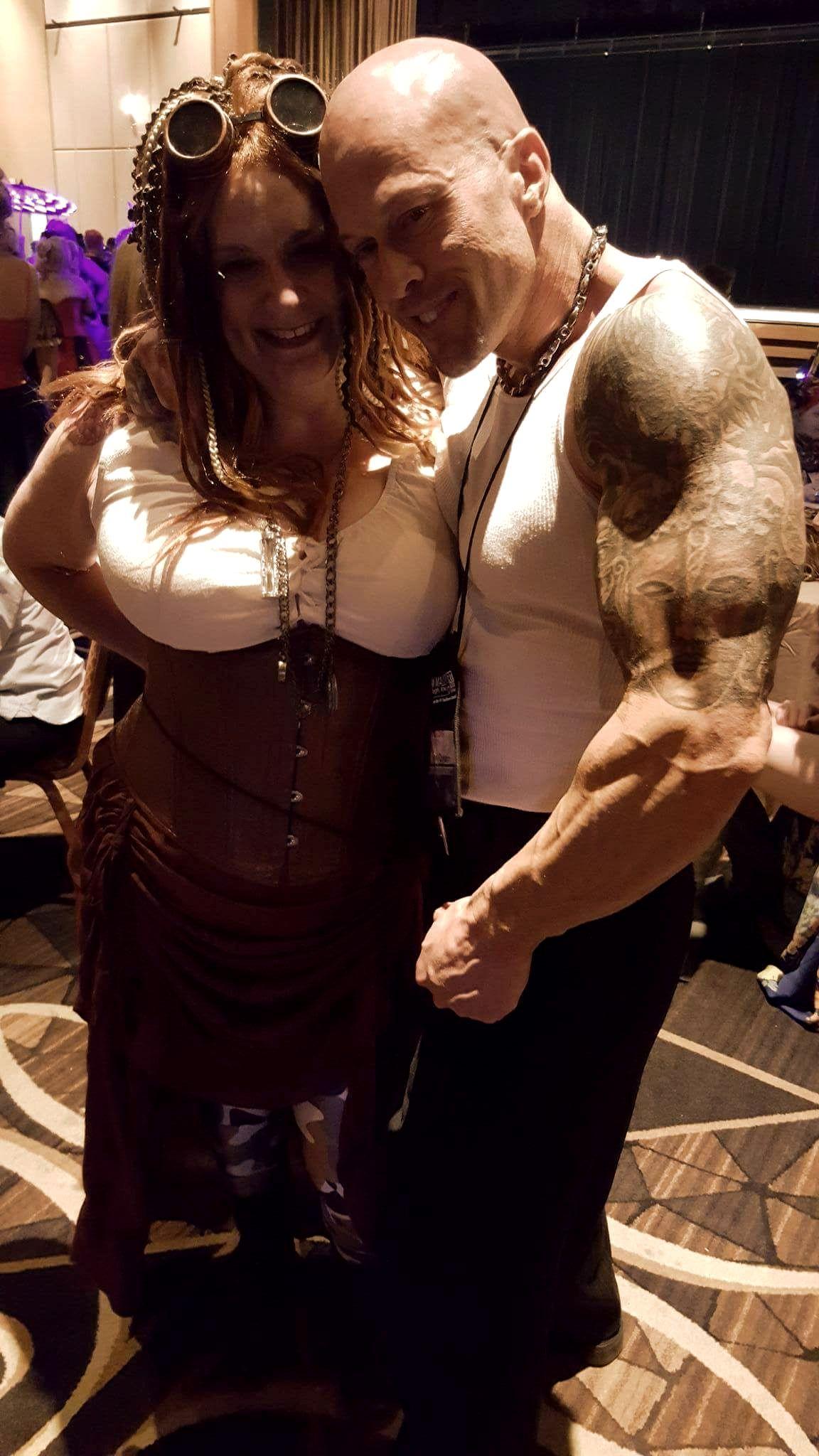 2016 RT Las Vegas Model & Actor John Joseph Quinlan with Ann Sutphin. #JohnQuinlan