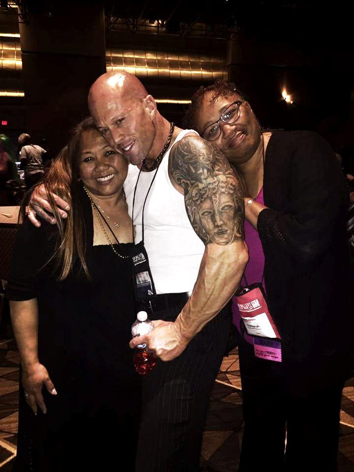 2016 RT Las Vegas Model & Actor John Joseph Quinlan with Gwendolyn Bandayrel Small. #JohnQuinlan