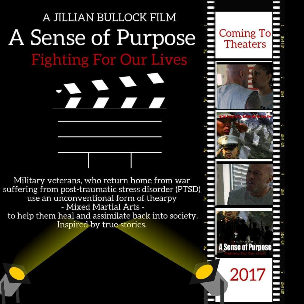A Sense of Purpose Jillian Bullock Tamara Woods Movie Poster with Actor & Model John Joseph Quinlan. #JohnQuinlan
