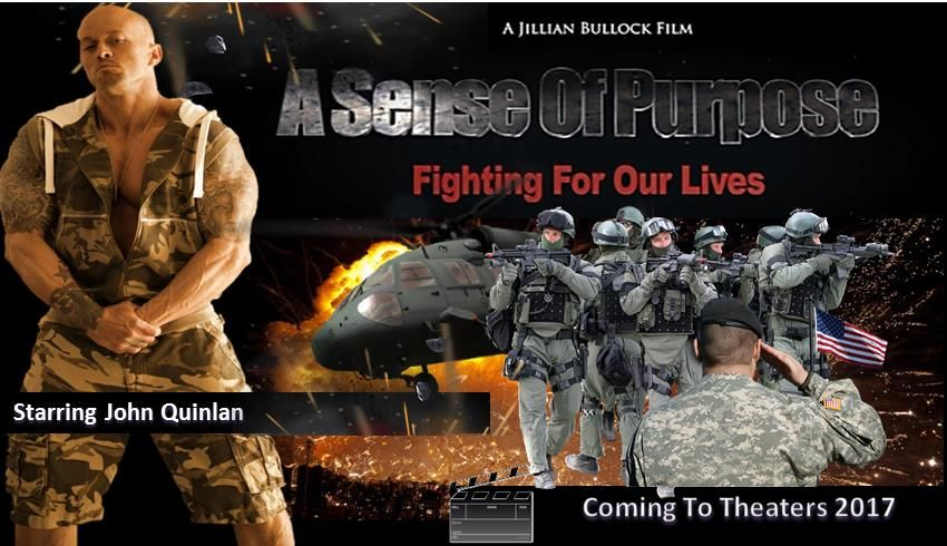 Actor & Model John Joseph Quinlan A Sense of Purpose Fighting For Our Lives. #JohnQuinlan