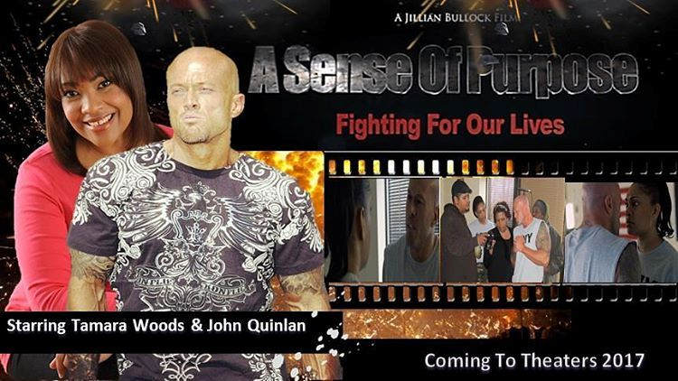 Actor & Model John Joseph Quinlan & Tamara Woods A Sense of Purpose Fighting For Our Lives. #JohnQuinlan
