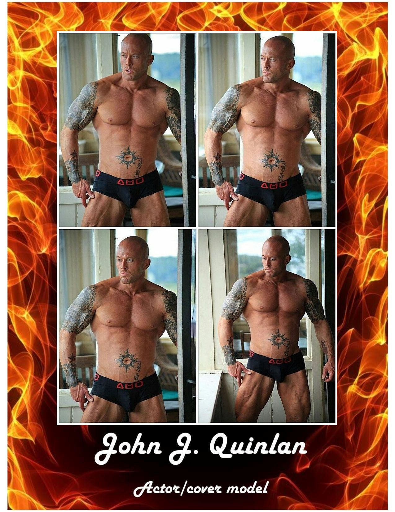 Cover Model & Actor John Joseph Quinlan by Roxanna. #JohnQuinlan