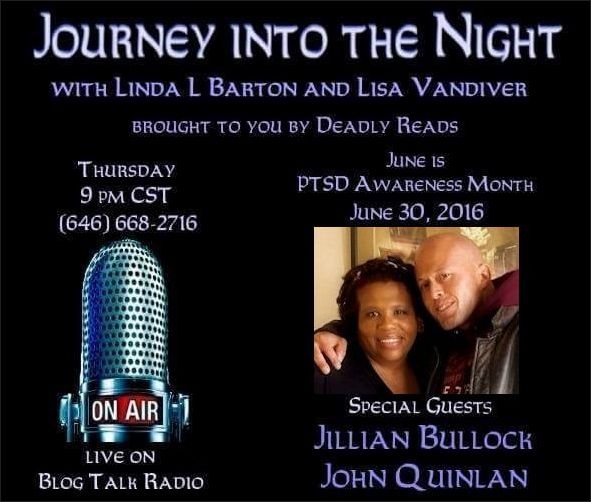 Deadly Reads Radio with Jillian Bullock & Physique Model Actor John Joseph Quinlan. #JohnQuinlan