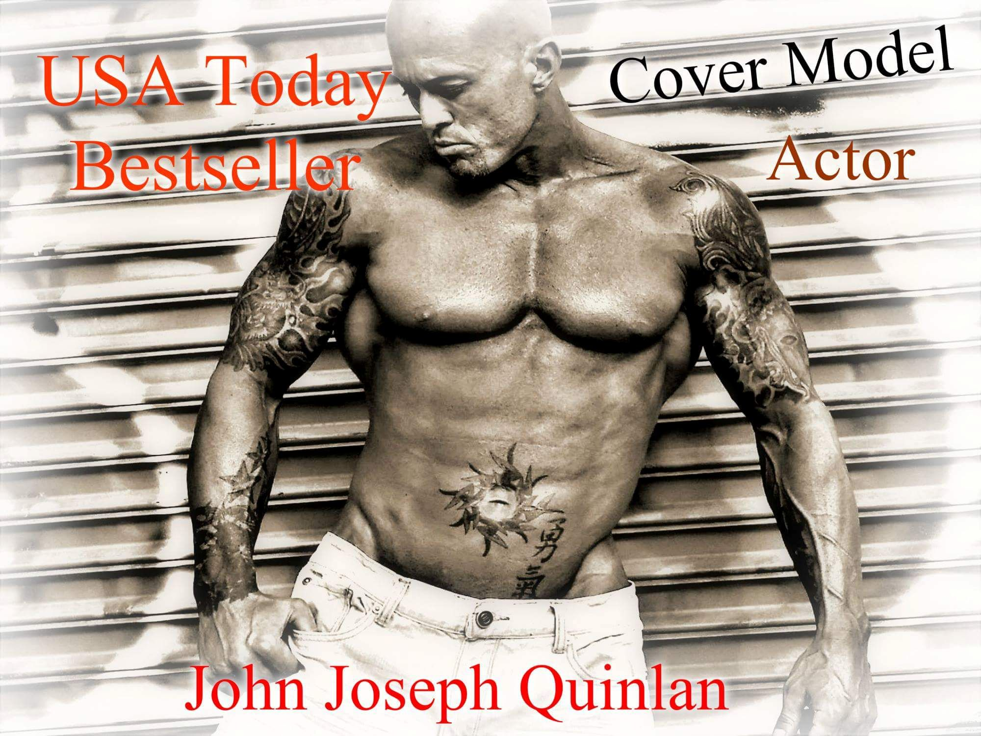 Cover Model & Actor John Joseph Quinlan by Heidi Rundle #JohnQuinlan