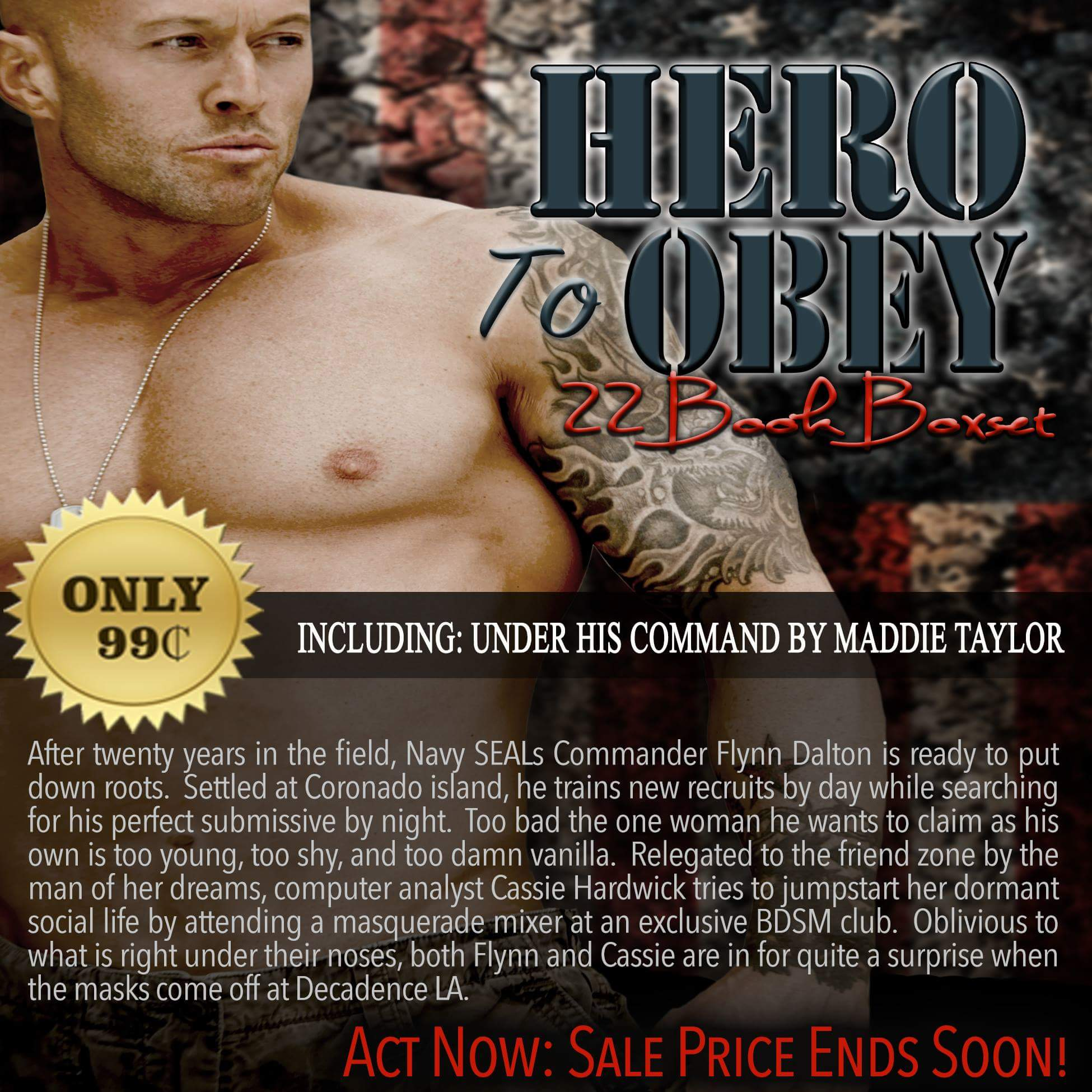 Hero To Obey Book Cover Model Actor John Joseph Quinlan by Maddie Taylor #JohnQuinlan #Hero2obey