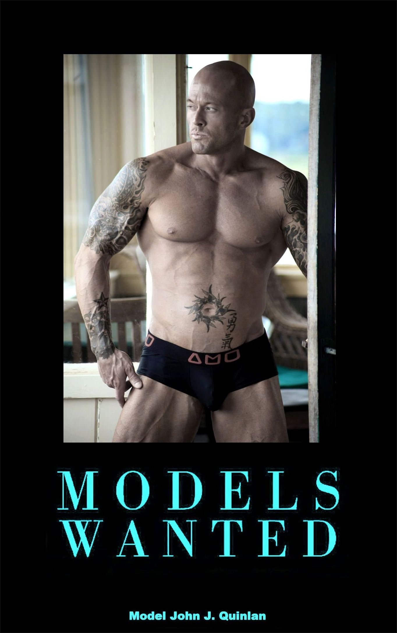 Romance Physique Model & Actor John Joseph Quinlan Cover Models Wanted #JohnQuinlan