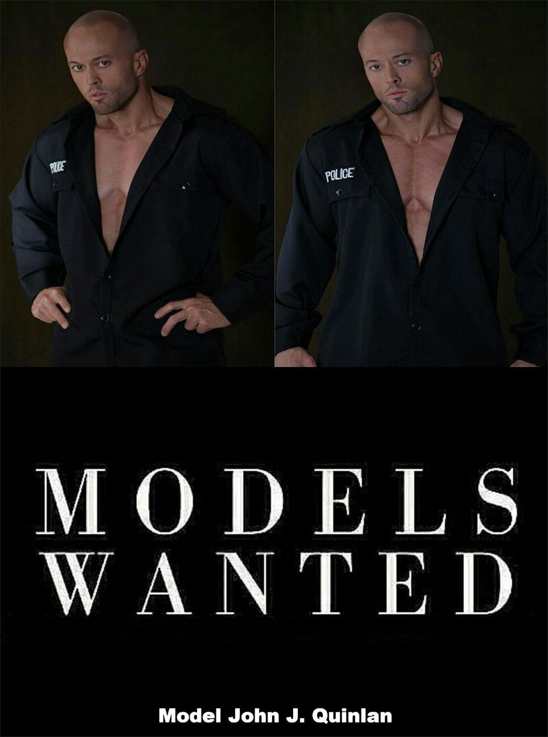 Romance Physique Model & Actor John Joseph Quinlan Models Wanted #JohnQuinlan
