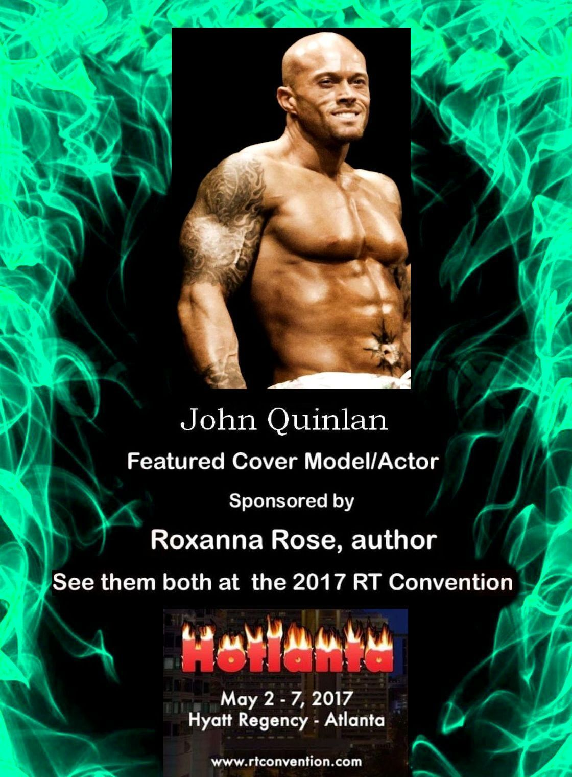 2017 RT Convention Atlanta Featured Cover Model John Joseph Quinlan by Roxanna Rose #JohnQuinlan #RT2017 #RT17