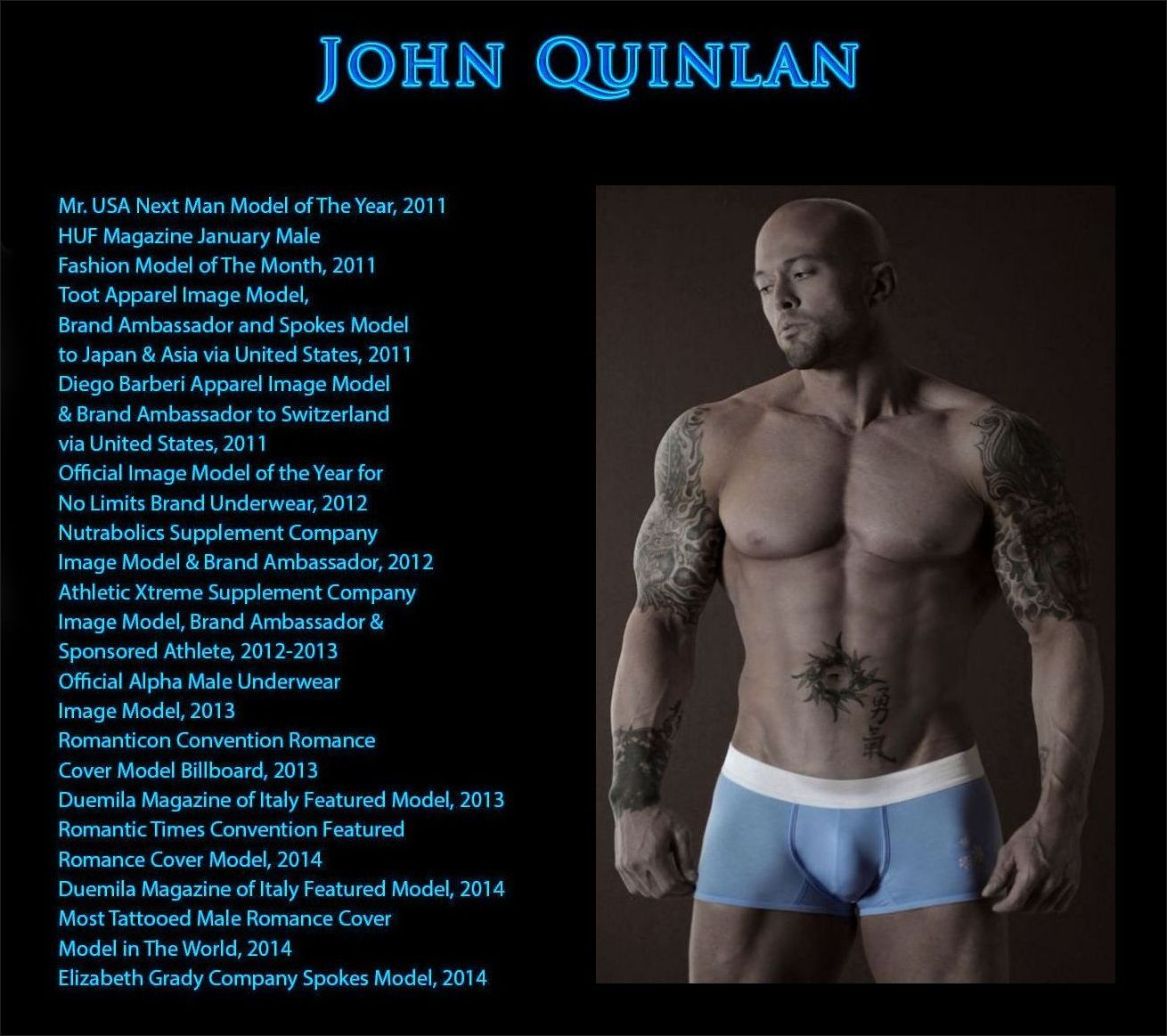 Celebrity Romance Cover Model & Actor John Joseph Quinlan #JohnQuinlan