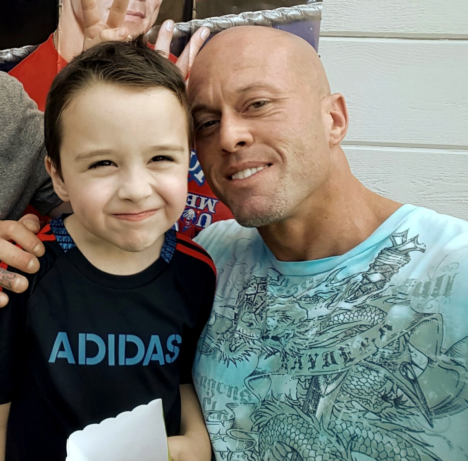 Model & Actor John Joseph Quinlan with Son Cole @ His 7th Birthday #JohnQuinlan