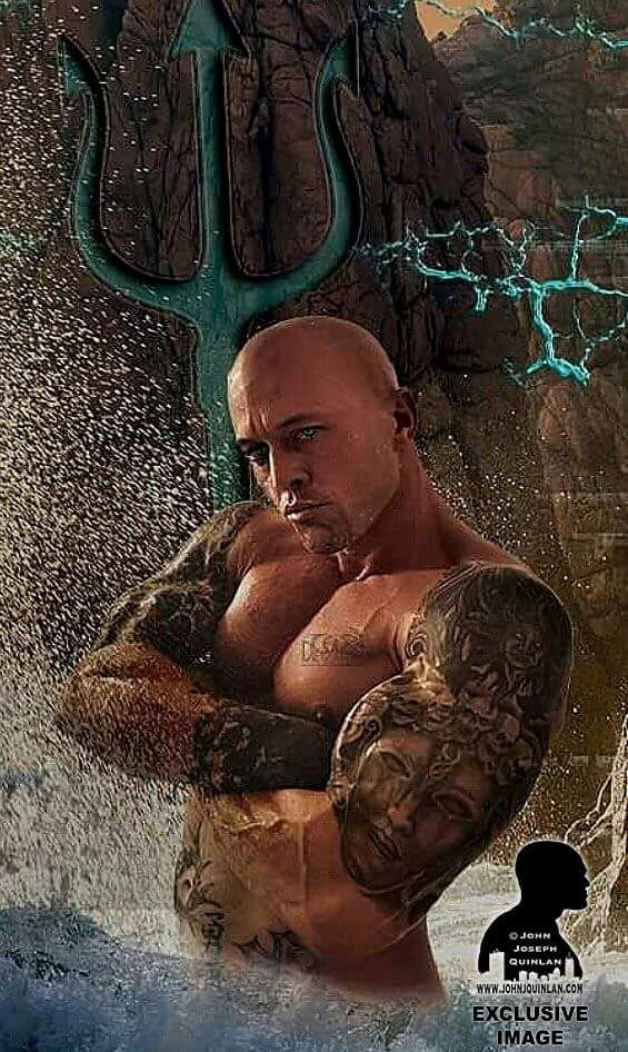 Romance Physique Model Actor John Joseph Quinlan Fan Art by Claudia Bost #JohnQuinlan