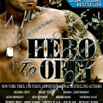 USA TODAY BESTSELLER Hero To Obey Cover Model Actor John Joseph Quinlan Autograph #JohnQuinlan