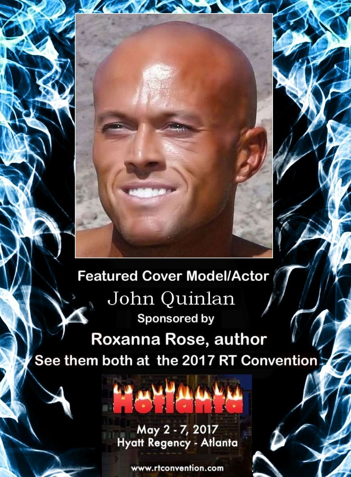 2017 RT Convention Atlanta Featured Cover Model John Joseph Quinlan by Roxanna Rose #JohnQuinlan8