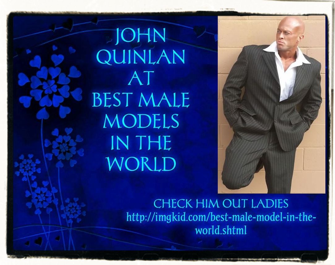 Actor John Joseph Quinlan Best Male Models in the World by Patricia Statham #JohnQuinlan