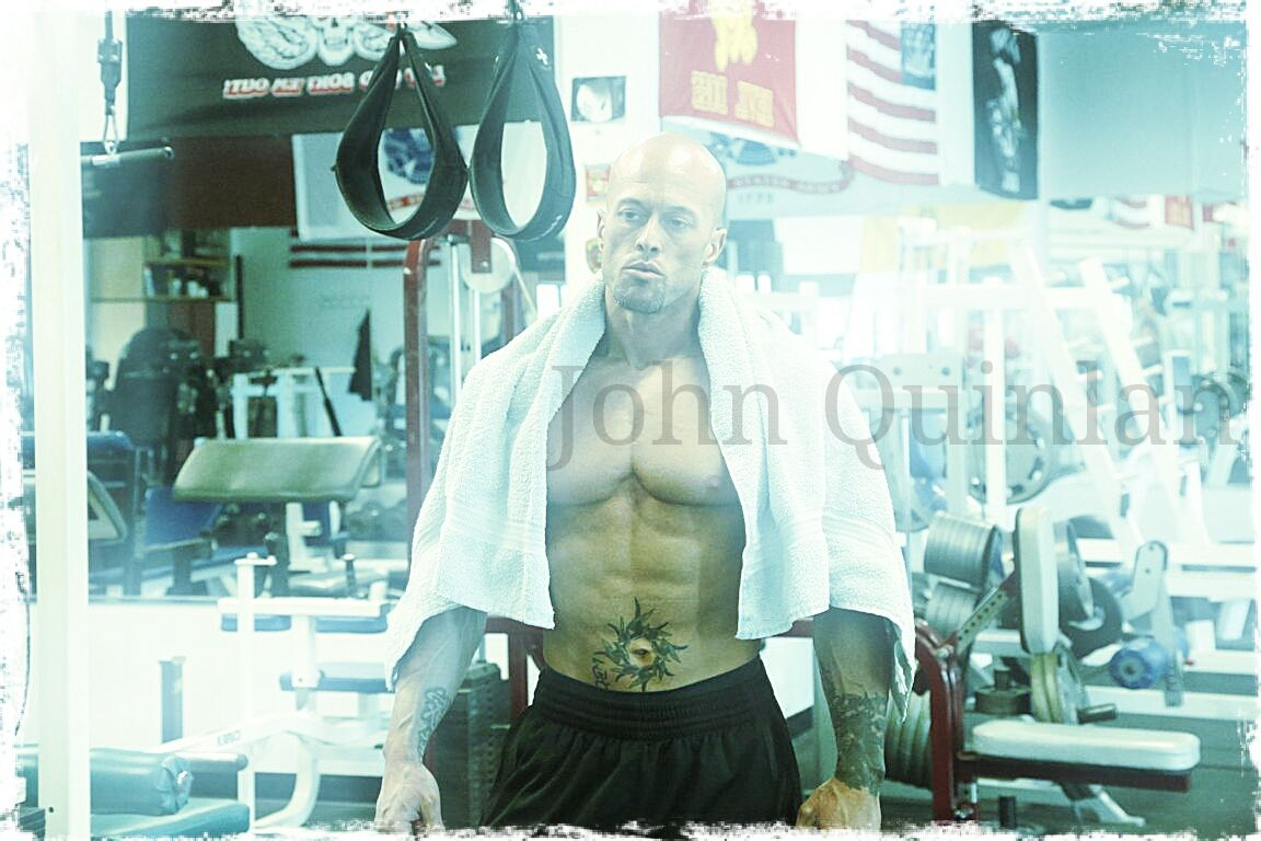Physique Model & Actor John Joseph Quinlan Gym Poster #JohnQuinlan